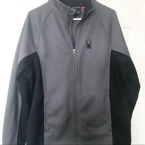 Spyder Foremost Jacket Fleece Lined Full Zip Black